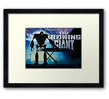The Ironing Giant Framed Print