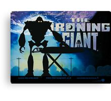 The Ironing Giant Canvas Print