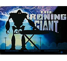 The Ironing Giant Photographic Print