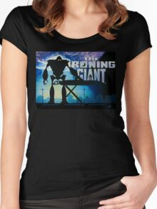 The Ironing Giant Women's Fitted Scoop T-Shirt