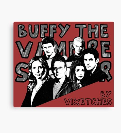 Buffy Calender (COVER ONLY) Canvas Print