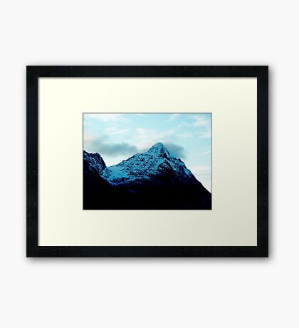 Throat of the World  Framed Print
