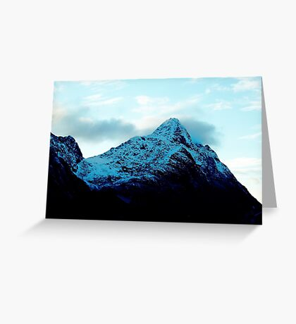 Throat of the World  Greeting Card