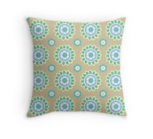 SEA GYPSY in Sand Throw Pillow