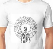 Man of a science2 Unisex T-Shirt