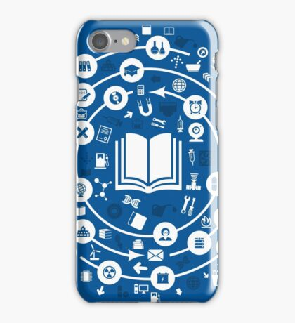 Science a circle iPhone Case/Skin