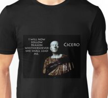 I Will Now Follow Reason - Cicero Unisex T-Shirt