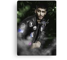 ZAYN MALIK - Photoshoot Colored by me Canvas Print