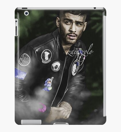ZAYN MALIK - Photoshoot Colored by me iPad Case/Skin