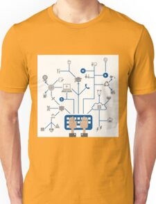 Science a network Unisex T-Shirt