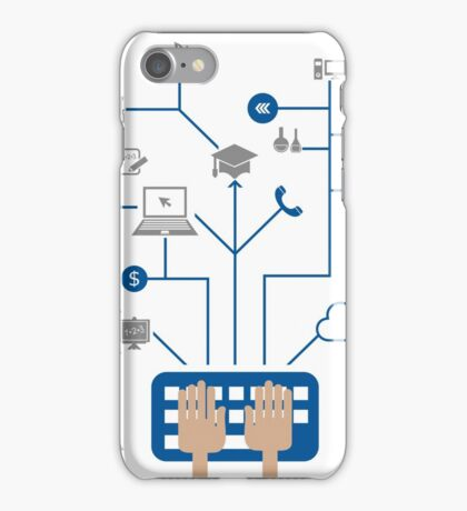 Science a network iPhone Case/Skin