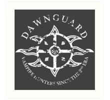 Dawnguard Vampire Hunting Art Print