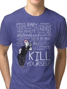 "Rhymes with ""Dumblr"" Tri-blend T-Shirt"