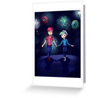 High Hopes In Fireworks Greeting Card