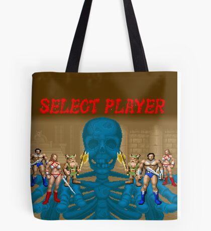 Golden Axe - Select Player Tote Bag
