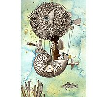 Flotilla - Claude & Blowfish Photographic Print