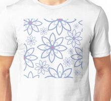 Abstract flowers pattern Unisex T-Shirt