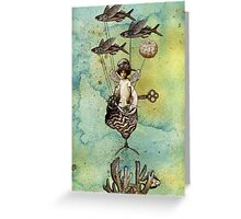 Flotilla - Amelie and Flying Fish Greeting Card