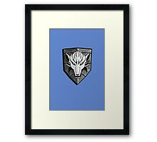 Iron Wolf Framed Print