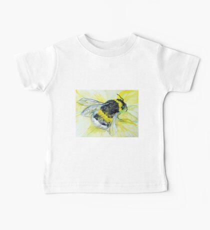 Bumble bee walk by Liz H Lovell Baby Tee
