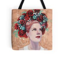 Christmas Red Beauty Tote Bag