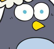 cartoon emperor penguin Sticker