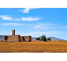 Abandoned home and rural property. near Hawker, South Australia. Photographic Print