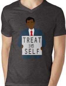Treat Yo Self Mens V-Neck T-Shirt
