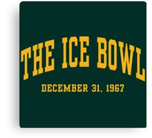 The Ice Bowl Canvas Print