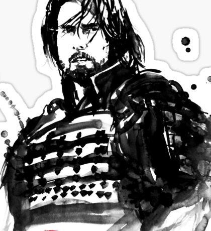 the last samurai Sticker