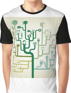Science abstraction Graphic T-Shirt