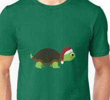 Santa Turtle Unisex T-Shirt