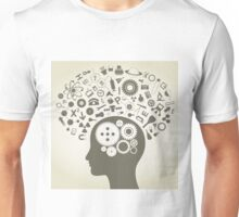 Science head Unisex T-Shirt
