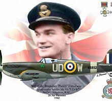 Wg Cdr Brendan 'Paddy' Finucane by A. Hermann