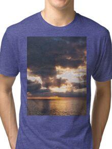 Ocean Meets Sky Tri-blend T-Shirt