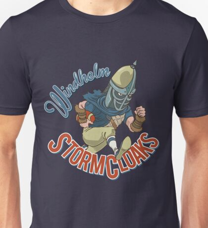 Windhelm Stormcloaks Sportsball Team Unisex T-Shirt