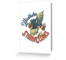 Windhelm Stormcloaks Sportsball Team Greeting Card