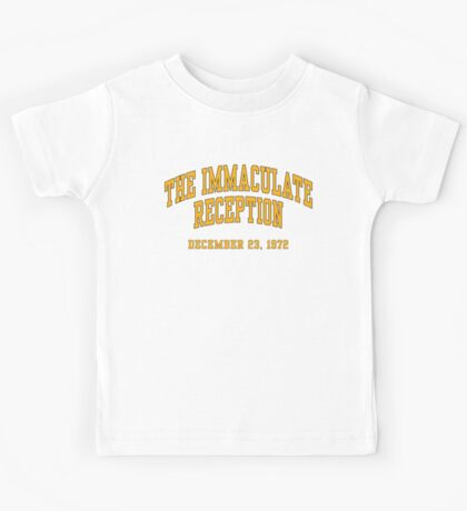 The Immaculate Reception Kids Tee