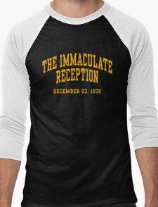 The Immaculate Reception Men's Baseball ¾ T-Shirt