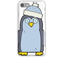 cartoon penguin iPhone Case/Skin