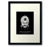 The Mad Arab Framed Print