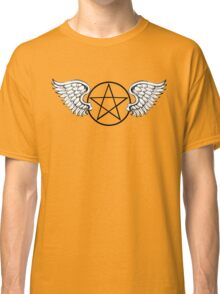 Winged Pintagram Classic T-Shirt