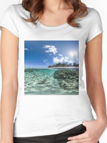 Skywater Women's Fitted Scoop T-Shirt