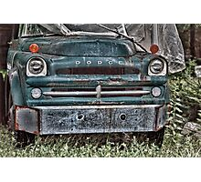 Dodge In The Wood Photographic Print