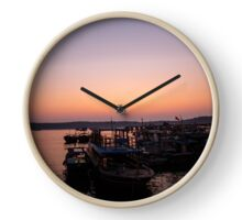 Sleepy Harbour Clock