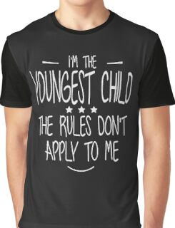 I'm the youngest child christmas shirt Graphic T-Shirt