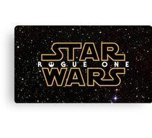 Star Wars Rogue One Canvas Print