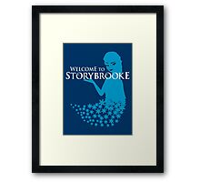 Queen of Ice and Storybrooke Framed Print