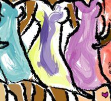 Community~(C) 2013 LMG/Lisa Michelle Garrett Sticker