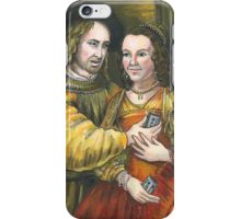 Nicolas Cage, Rembrandt Painting, Mix Tape iPhone Case/Skin